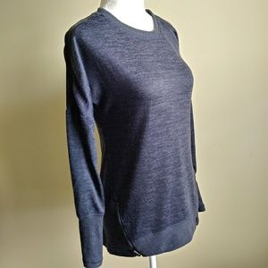 Active Life Gray Heathered Long Sleeve Sweater